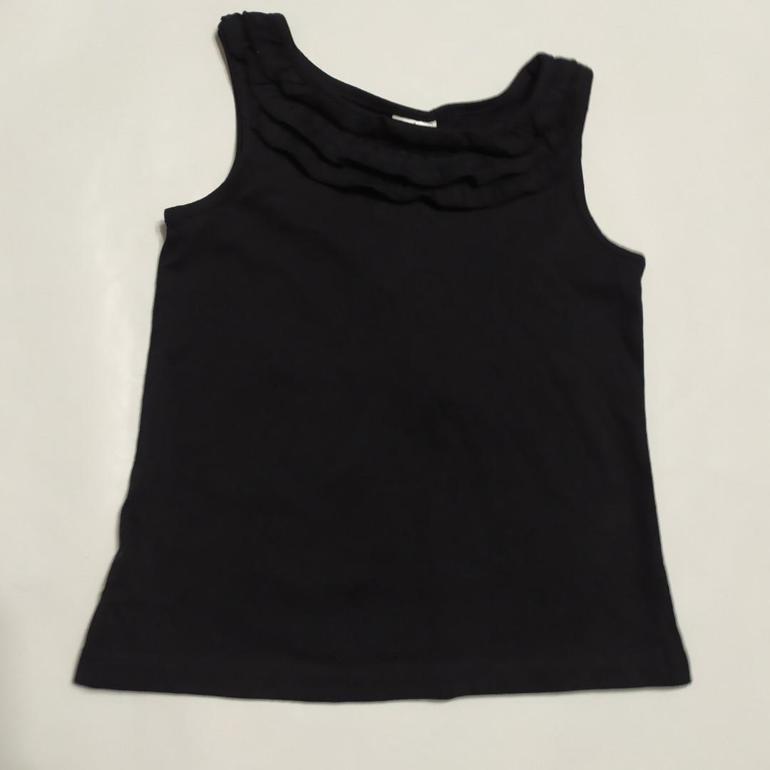 Черная футболка-майка  Palomino р.98см