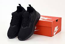 Мужские кроссовки Nike Air Max 270 React. Black . ТОП Реплика ААА класса., фото 2