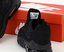 Мужские кроссовки Nike Air Max 270 React. Black . ТОП Реплика ААА класса., фото 3