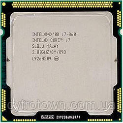 Процессор Intel Core i7 860 (4)x2.8GHz 8mb cache s1156