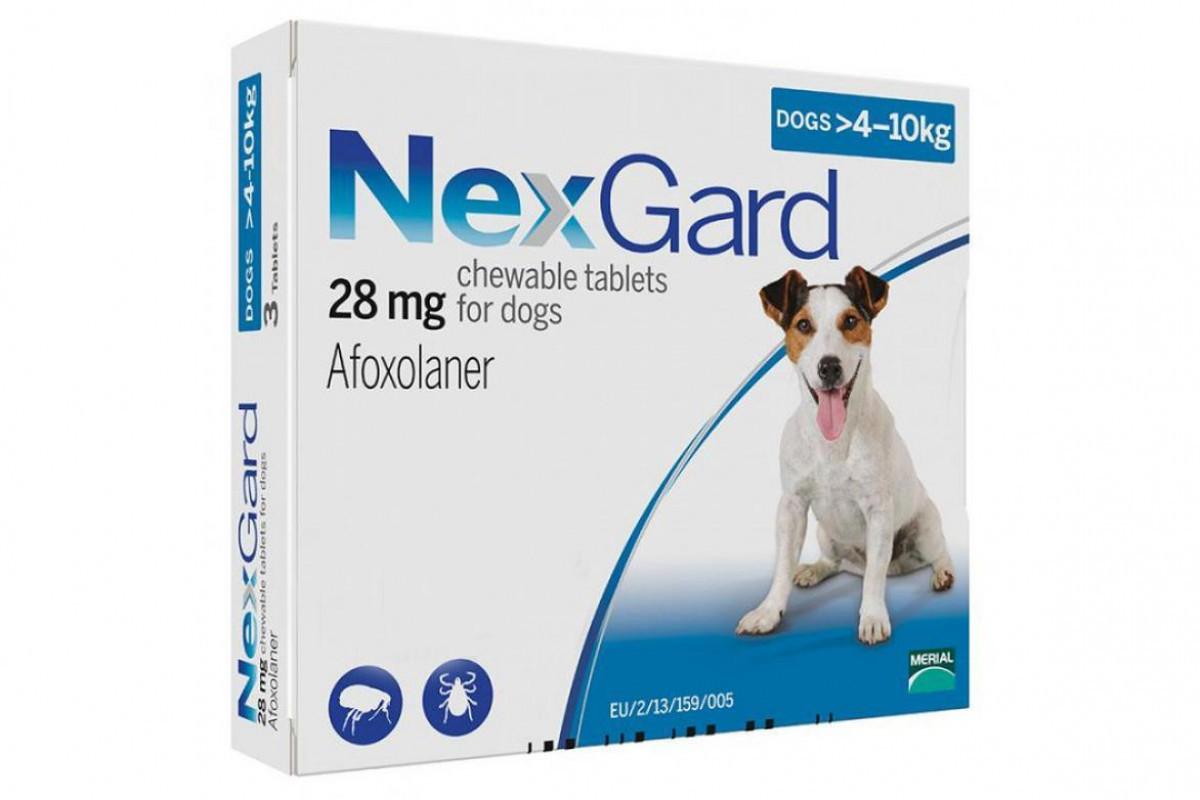 Таблетки Boehringer Ingelheim NexGard от блох и клещей для собак M (4-10 кг) (1 таблетка)
