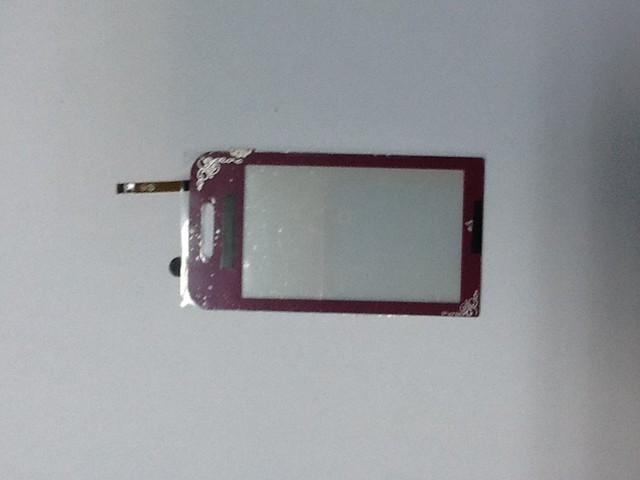 Сенсорний екран Samsung S5230 Star, бордовий, la fleur