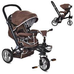 Детская коляска велосипед Turbo Trike M AL3645-13 функциональный