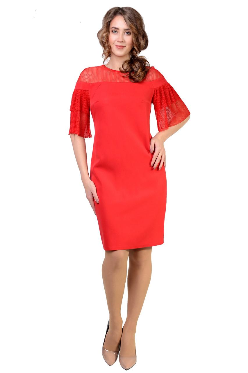 Интересное женское платье (рр.46-52)