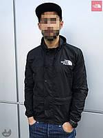 Ветровка куртка мужская весенняя осенняя качественная черная The North Face