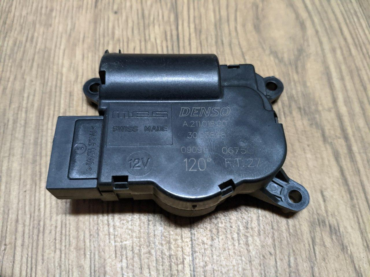 Моторчик заслонки печки Renault Master, Opel Movano 2010-, EAD511 (Б/У)