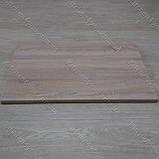 Столешница 800х500х28 мм. для откидного столика D-3025 WL дуб сонома, фото 3