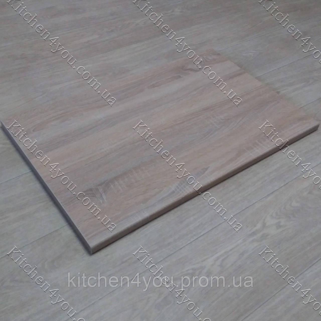 Столешница 800х500х28 мм. для откидного столика D-3025 WL дуб сонома