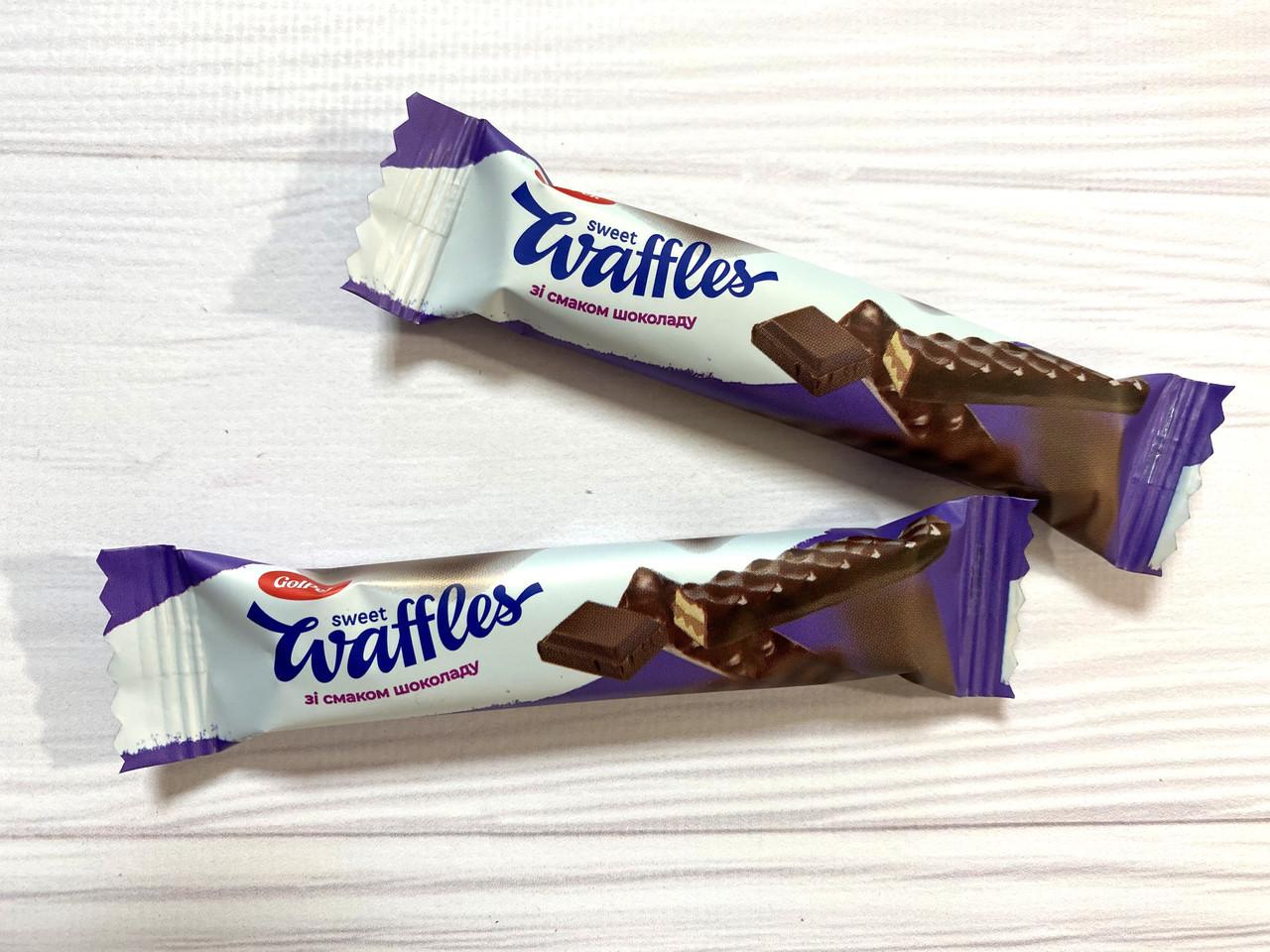 Вафельная конфета свит вафель (sweet waffles) шоколад 2 кг