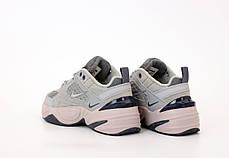 Жіночі кросівки Nike M2K Tekno. Grey. ТОП репліка ААА класу., фото 3