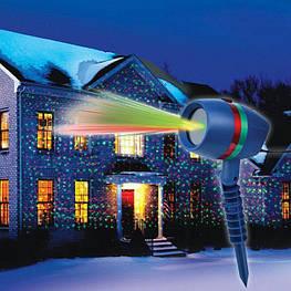 Лазерний проектор на Новий рік Star Shower lazer light