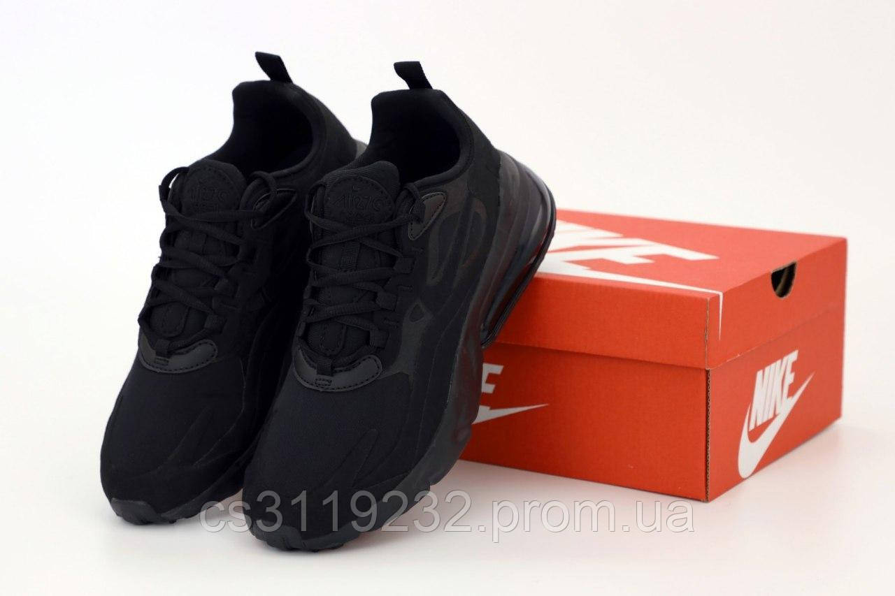 Чоловічі кросівки Nike Air Max 270 React (чорні)