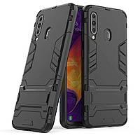 Чехол Protective Armor для Samsung A207 Galaxy A20s Черный