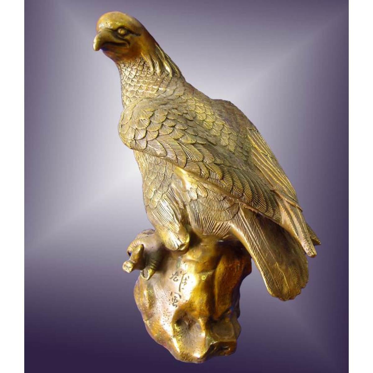 """Статуэтка """"Орел"""" бронза 45 см 29112"""