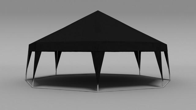 черная палатка