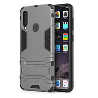 Чехол Protective Armor для Samsung A207 Galaxy A20s Серый
