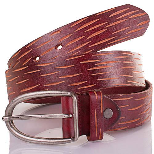 Женский кожаный ремень ETERNO (ЭТЕРНО) ETS512 коричнево-красноватый