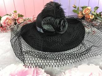 """Шляпа """"Дама в черном"""""""