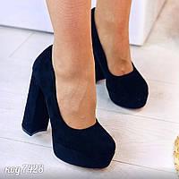 Черные туфли на платформе 38 размер, фото 1
