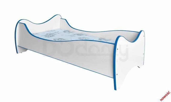 Кровать детская Duo Halmar Белый, Синий, фото 2