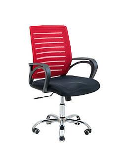 Кресло офисное Richman Flash Armchair спинка-сетка красная