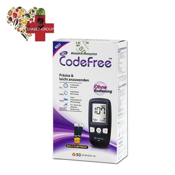 Глюкометр SD CodeFree GlucoDr