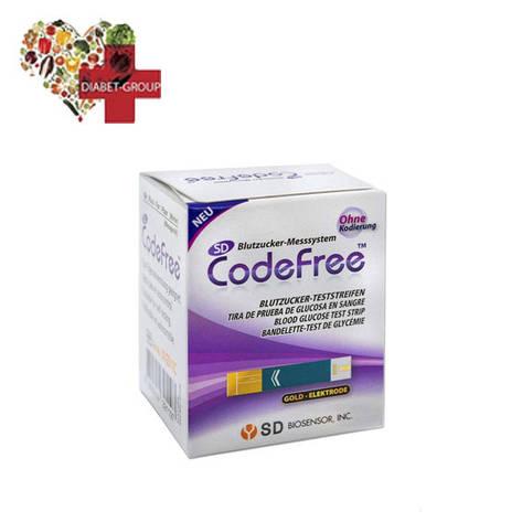 Тест-полоски SD CodeFree GlucoDr, фото 2