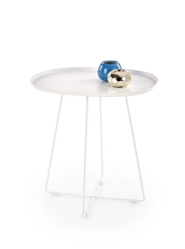 Журнальный стол TINA белый (50x42x51) Halmar