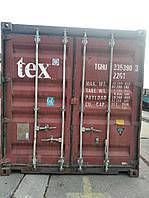 20DC Морской контейнер 20 б/у категория 3