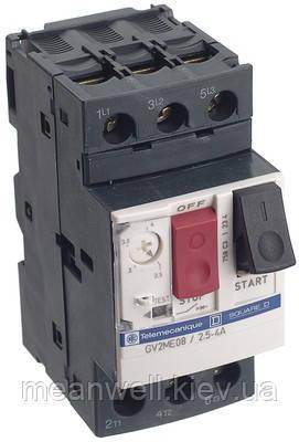 GV2ME10 4-6,3A Автомат защиты двигателя Schneider Electric (Шнайдер)