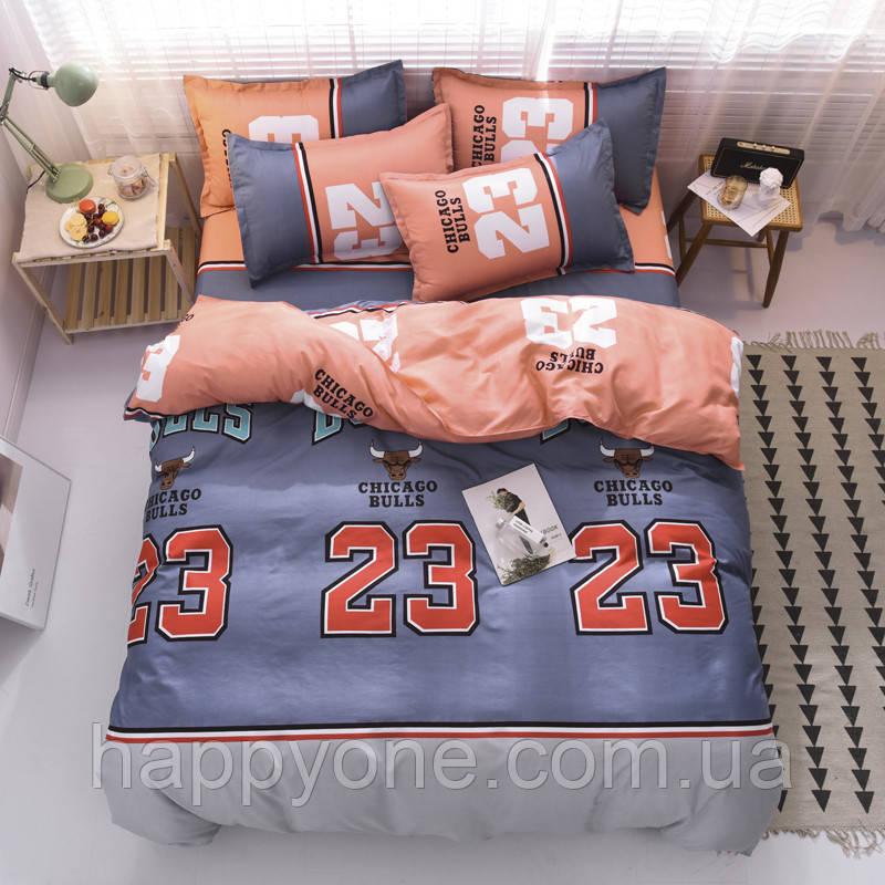 Полуторный комплект постельного белья Chicago bulls