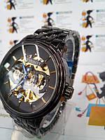 Механические мужские наручные часы Tis с автоподзаводом на браслете