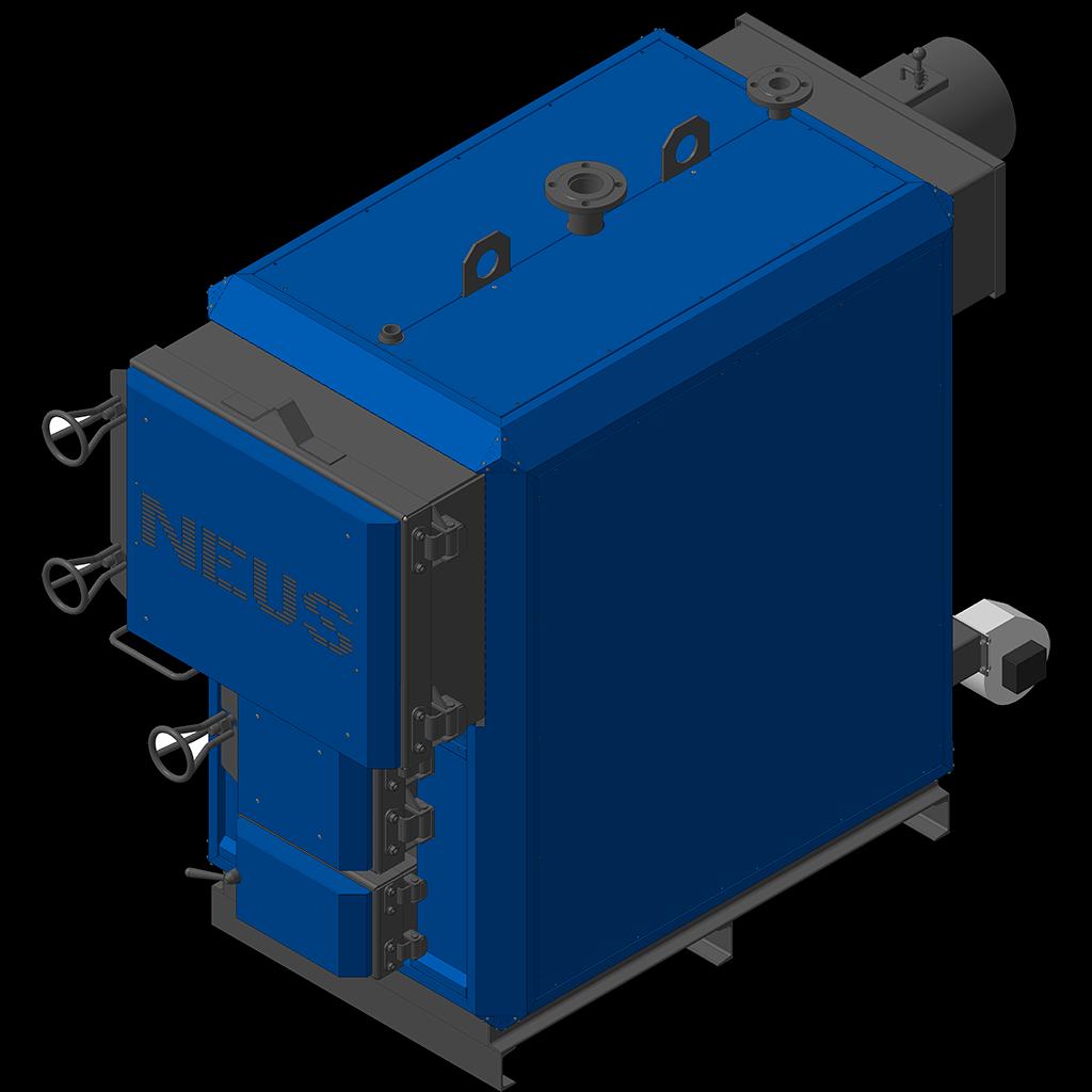 Жаротрубный твердотопливный котел Неус-Т 600 квт