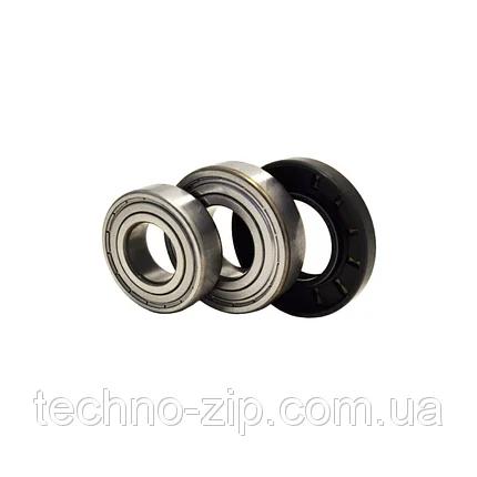 Комплект подшипников и сальник (6305+6306+35*72*10/12) для стиральной машины Bosch, Siemens, фото 2