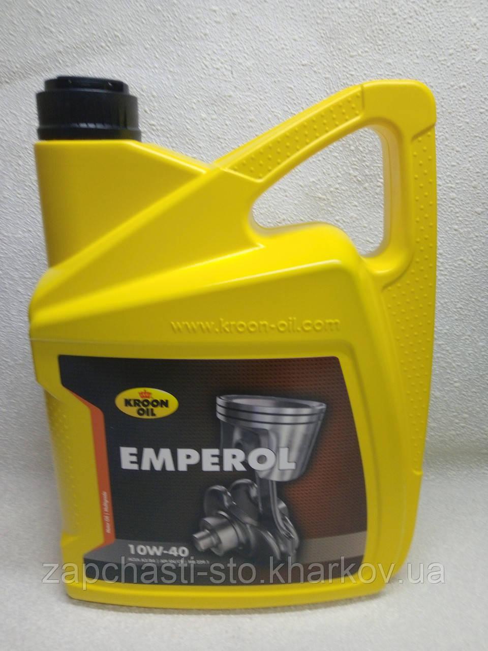 Полусинтетика Kroon Oil EMPEROL 10W40 SN/CF 5л моторное масло