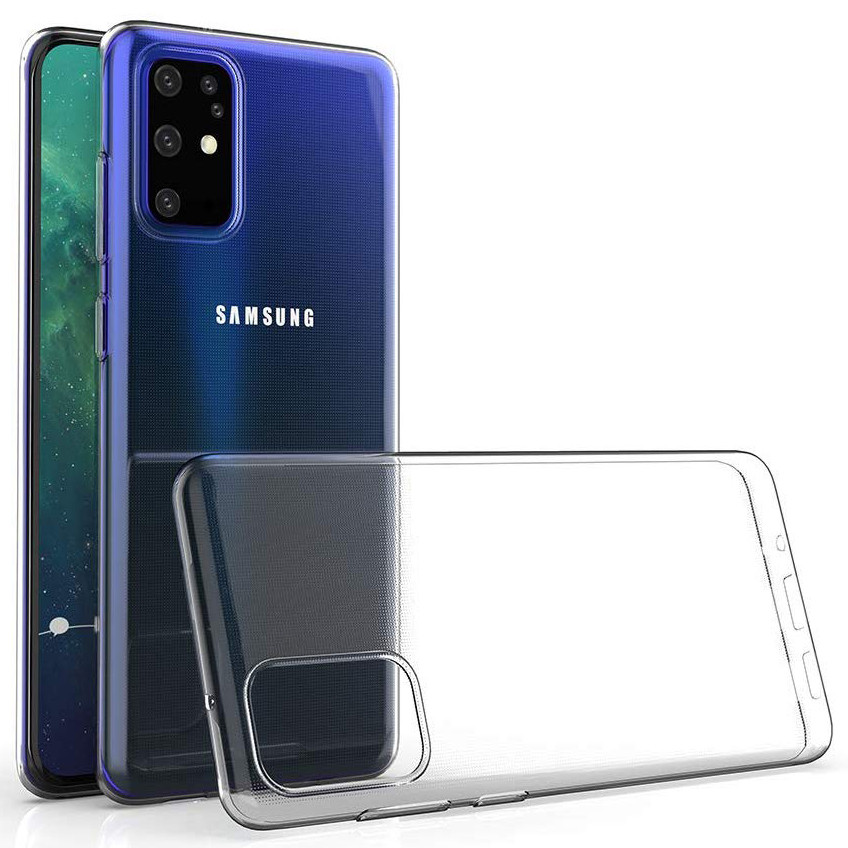 TPU чехол Epic Premium Transparent для Samsung Galaxy S20+