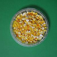 Сублімований апельсин (шматочки 3-5 мм.), 10 гр.