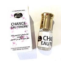 Легкие свежие масляные духи Chance Eau Tendre  от Al Rayan