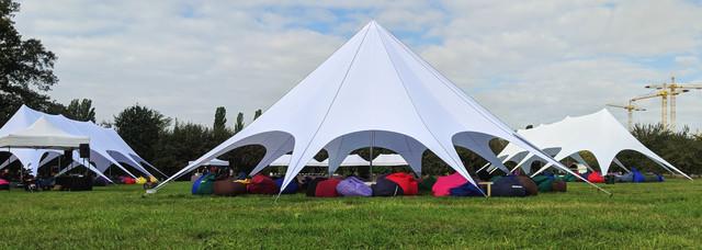 шатры большие