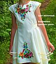 Нарядное вышитое платье для девочки с фатином, фото 2