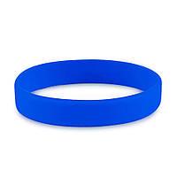 Браслет силиконовый (синий)