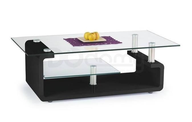 Журнальный столик CYNTHIA halmar черный, фото 2