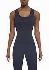 Спортивный женский топ BasBlack Cosmic-top 50 (original), майка для бега, фитнеса, спортзала, фото 2