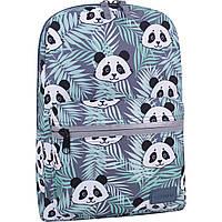 Рюкзак городской Bagland Молодежный mini 8 л принт 764 панда женский детский 00508664