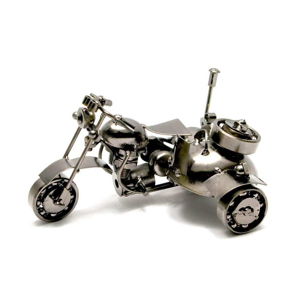 """Техно-арт """"Байк с мотоколяской"""" 15х10х10 см 26519"""
