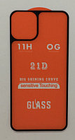 "Стекло на корпус 21D  iPhone 11 Pro - ""Ультра тонкое"" black (tempered glass)"