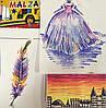 Волшебные фломастеры меняющие цвет MALINOS Malzauber 12 (10+2) шт, фото 5