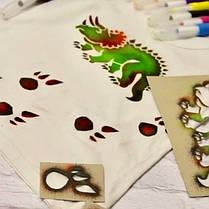 Фломастеры-аэрографы для ткани MALINOS BLOpens Textil текстильные 5 шт, фото 2