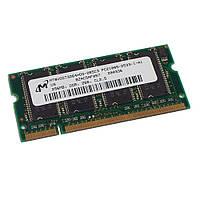 Оперативная память для ноутбука, ОЗУ, RAM, SODIMM, DDR1, 256 Мб,266 МГц