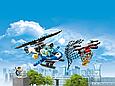 """Конструктор Bela (Lari) 11207 City """"Воздушная полиция: Погоня дронов"""" 210 деталей. Аналог LEGO City 60207, фото 2"""